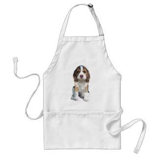 Beagle-Welpen-Porträtgeschenke Schürze