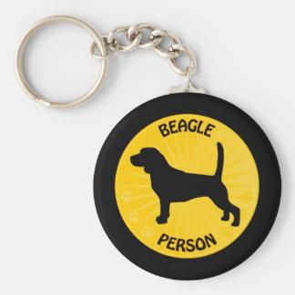 Beagle Xing Schlüsselanhänger