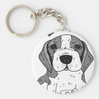 Beaglehund Schlüsselanhänger