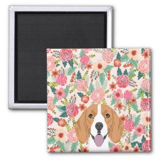 Beaglemagnet - Hundemagnetgeschenk Quadratischer Magnet