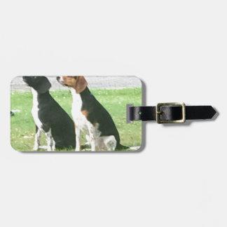 Beagles Kofferanhänger