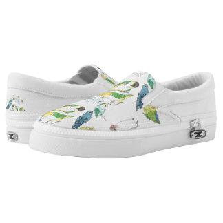 Beaky Vogel-Menge Slip-On Sneaker