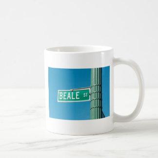 Beale Straßenschild Kaffeetasse