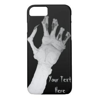 Beängstigende grauenhafte Monsterhand mit langer iPhone 8/7 Hülle