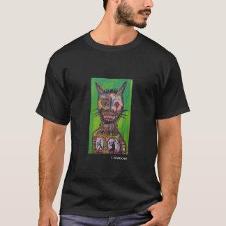 Beängstigende Katze T-Shirt