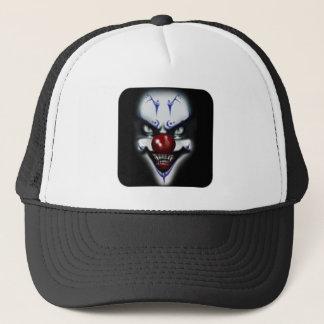 Beängstigender Clown Truckerkappe