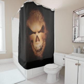 Beängstigender Creepy Duschvorhang