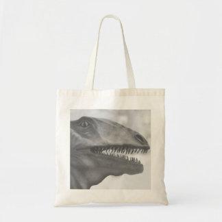 Beängstigender Dinosaurier Tragetasche