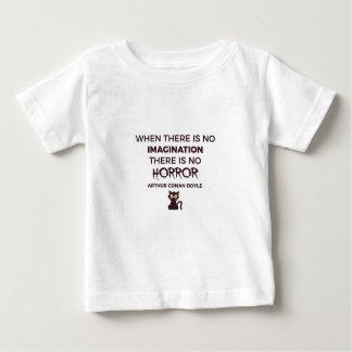 Beängstigender erschreckender baby t-shirt