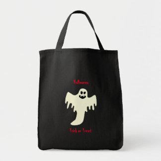 Beängstigender Geist Halloweens - Trick-oder Tragetasche