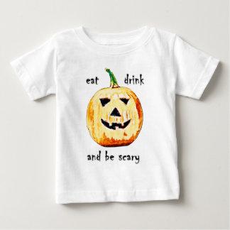 Beängstigender Kürbis Baby T-shirt