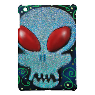 Beängstigender Sonntags-Schädel iPad Mini Hüllen