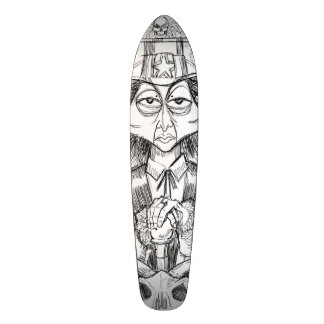 Beängstigender Typ Skateboarddeck