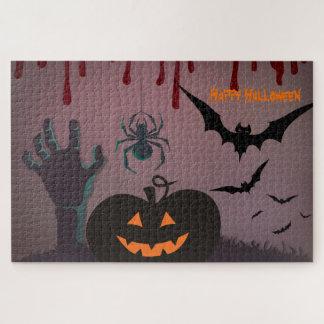 Beängstigendes Halloween Puzzle