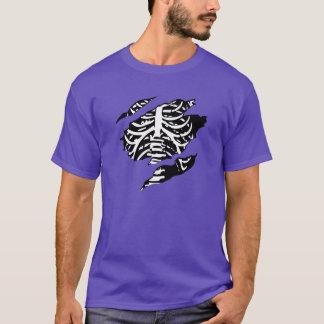Beängstigendes Halloween-Skelett-Shirt T-Shirt