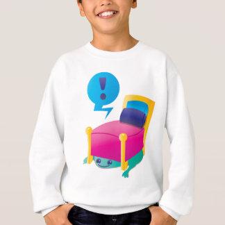 BEÄNGSTIGENDES Monster, das unter dem BETT lauert Sweatshirt
