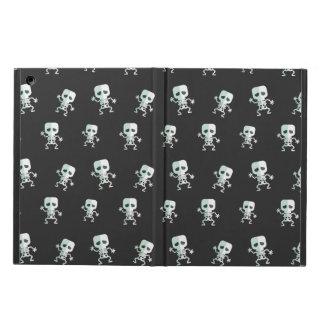 Beängstigendes schwarzes Skeleton Muster