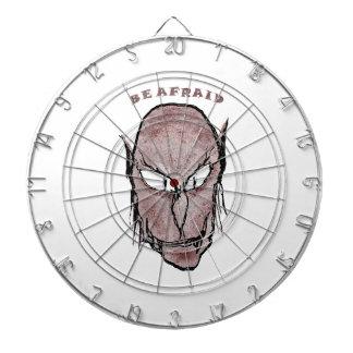 Beängstigendes Vampire-Zeichnen Dartscheibe