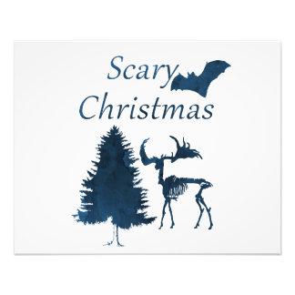 Beängstigendes Weihnachten Fotodruck
