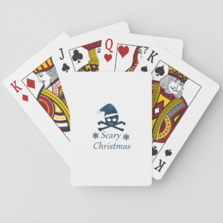 Beängstigendes Weihnachten Spielkarten