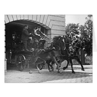 Beantworten des Anrufs 1922 Riesige Grußkarte