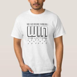 bearbeiten Sie bis Gewinn den Lotterie lustigen T T-Shirt