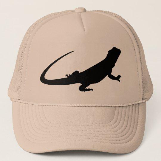 Bearded Dragon Hat Truckerkappe