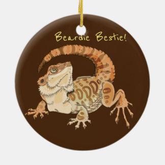 Beardie Bestie! Keramik Ornament