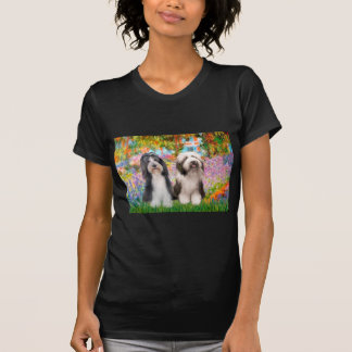 Beardie Paare 2 - Garten T-Shirt