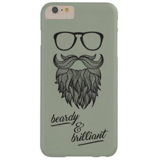beardy u. glänzend barely there iPhone 6 plus hülle