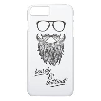 beardy u. glänzend iPhone 7 plus hülle
