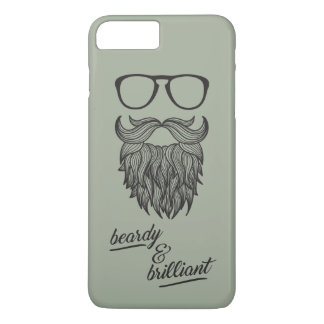 beardy u. glänzend iPhone 8 plus/7 plus hülle