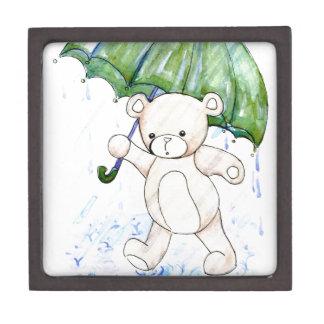Beary nasser Teddybär Schachtel