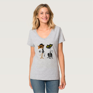 Beatnikkat-Paare T-Shirt