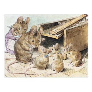Beatrix Potter, die Geschichten-Bücher der Kinder Postkarte