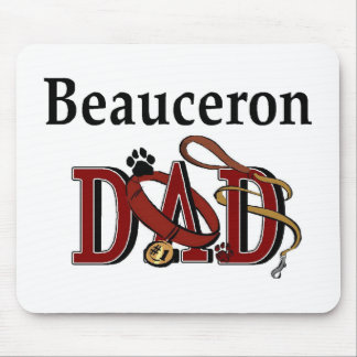 Beauceron Vati-Geschenke Mousepad
