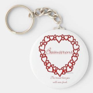 Beauceron wahre Liebe - Keychain Schlüsselanhänger