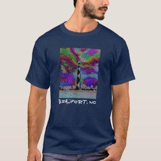 Beaufort, NC - Kap-Ausblick (hinter) T-Shirt