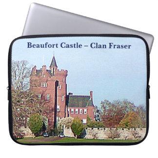 Beaufort Schloss - Clan Fraser Laptopschutzhülle