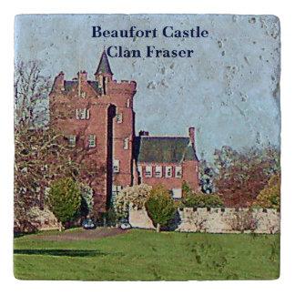 Beaufort Schloss - Clan Fraser Töpfeuntersetzer