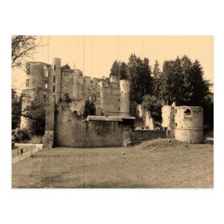 Beaufort Schloss-Museum, Luxemburg Postkarte