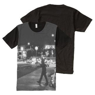 Beauti auf Pico Boulevard Photograohy T-Shirt Mit Bedruckbarer Vorderseite
