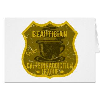 Beautician-Koffein-Sucht-Liga Karte