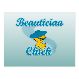 Beautician-Küken #3 Postkarte