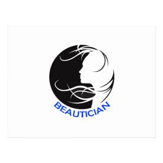 BEAUTICIAN POSTKARTE
