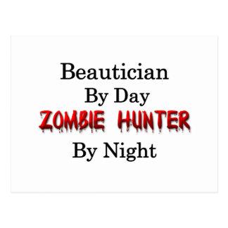 Beautician-/Zombie-Jäger Postkarte