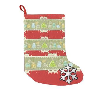 Beautiful Christmas sock Brushed Polyester Kleiner Weihnachtsstrumpf