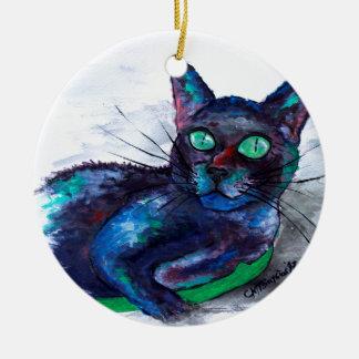 Beautiful Companion, Frau Biscuit Tante Keramik Ornament