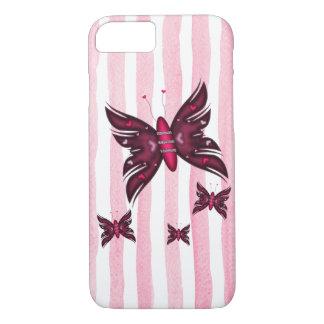 Beautyful Rot Schmetterlinge iPhone 8/7 Hülle