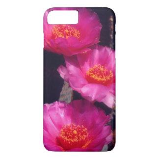 Beavertail Kaktus-Blumen 2 iPhone 8 Plus/7 Plus Hülle